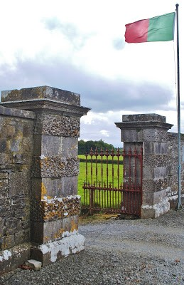 Photo:The Entrance Gates to Towerhill near Carnacon, Co. Mayo