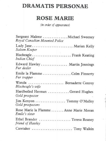 Photo: Illustrative image for the 'Ballinrobe's musical Rose Marie' page