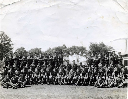 Photo: Illustrative image for the 'Old Army Photo 1967 includes Ballinrobe man' page
