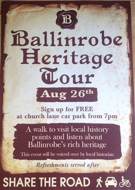 Photo: Illustrative image for the 'New this week - Ballinrobe Heritage Walk' page