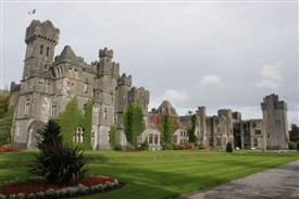 Photo:Ashford Castle overlooking Lough Corrib