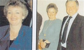 Photo:Left to R:  Blanche McTigue, Delma McTigue maried Michael Coyne