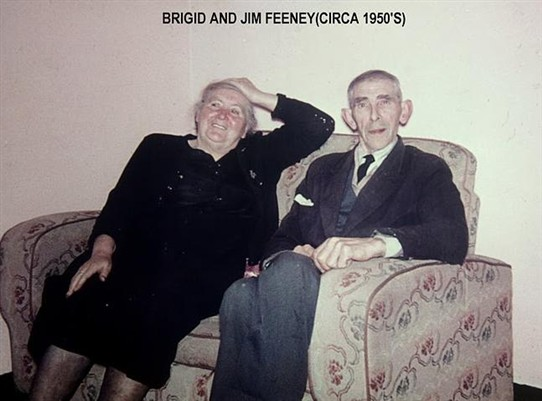 Photo:Bridig and Jim Feeney c.1990
