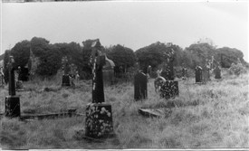Photo:The old graveyard at Carnalecks Church (Tempall Mór)
