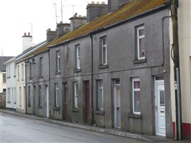 Photo:Houses on Church Lane