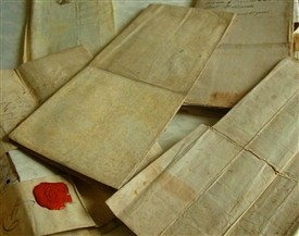 Photo:Original 18th century Ballinrobe property documents