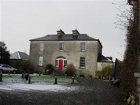 Photo:The Rectory for the Church of Ireland, built c 1810 is adjacent to Bower's Lane.