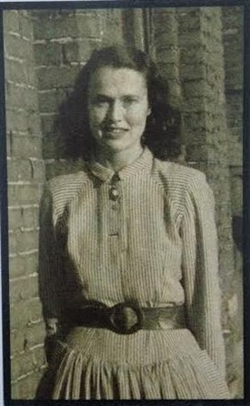 Photo:Dr. Mulloy as a young woman