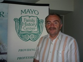 Photo:Mr. Ger Delaney at the Family Research Centre