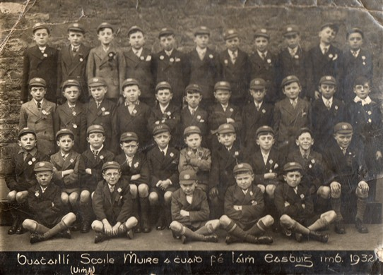 Photo: Illustrative image for the 'Ballinrobe Boys Confirmation class 1932' page
