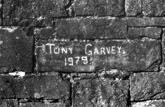 Photo: Illustrative image for the 'Tony Garvey 1979' page