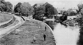 Photo:Bowers c 1895 or Canal Pier