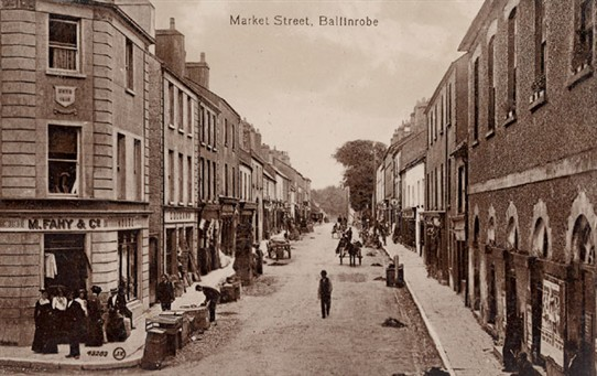 Photo: Illustrative image for the 'Photos of Market Street, Ballinrobe (now Main St)' page