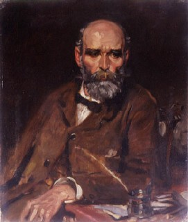 Photo:A painting of Michael Davitt MP