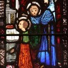 Page link: Detail from St. Jarlath's stained-glass window by Harry Clarke