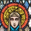 Page link: St. Brigid - Harry Clarke's stained-glass window at St. Mary's Church, Ballinrobe, County Mayo