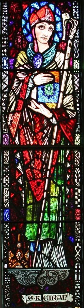 Photo: Illustrative image for the 'St. Keiran, Harry Clarke stained-glass' page