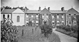 Photo:Convent of Mercy, Ballinrobe. Wynn Collection, Mayo Co. Co. Library