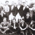 Photo:St. Mary's boarding school 1931.  Mac (later Dr. McDarby) second from left front row.