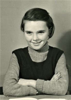 Photo:Ann as a young pupil