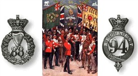 Photo:The 94th Regiment of Foot and the 88th Regiment of Foot were amalgamated in 1881