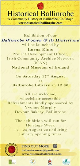 Photo: Illustrative image for the 'Upcoming Exhibition of Women of Ballinrobe & its Hinterland' page