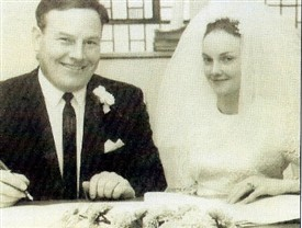 Photo:Miko and Angela Murphy, Ballinrobe on their wedding day 18th October, 1969