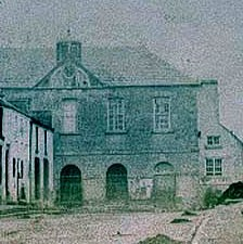 Photo:Historic Market House with court upstairs built c. 1750.  The lower floor was an open market area similar to the building preserved in Kilkenny.